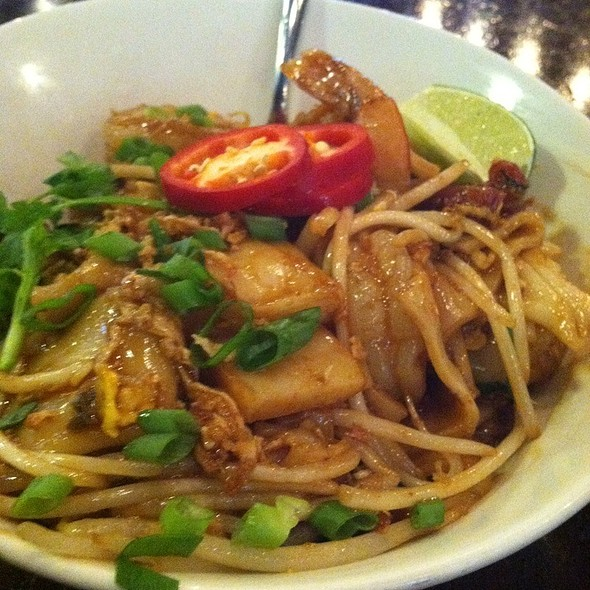 Wok Fried Rice Noodles  - Straits Restaurant - Santana Row, San Jose, CA