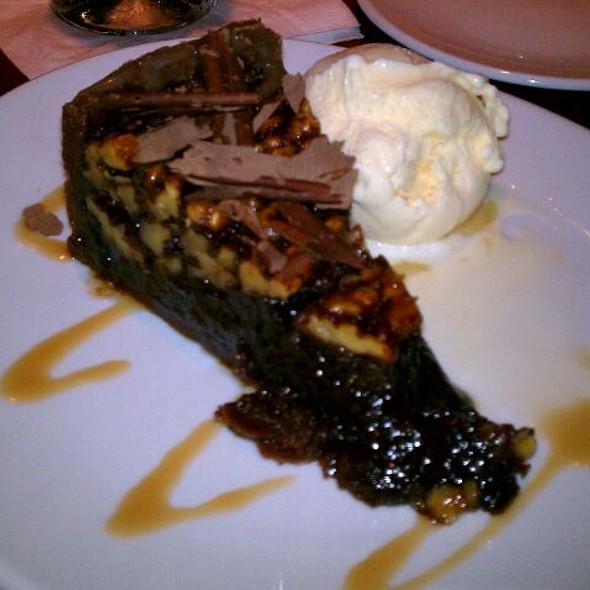 Walnut Turtle Pie - Fleming's Steakhouse - Baltimore, Baltimore, MD