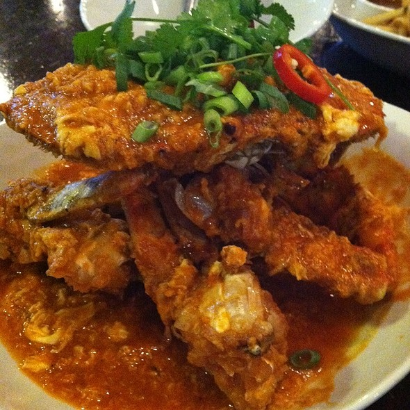 Singaporean Chili Crab - Straits Restaurant - Santana Row, San Jose, CA