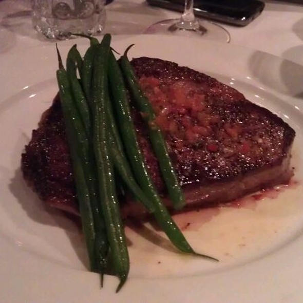 Ribeye Steak - Lucio's BYOB & Grill, Houston, TX