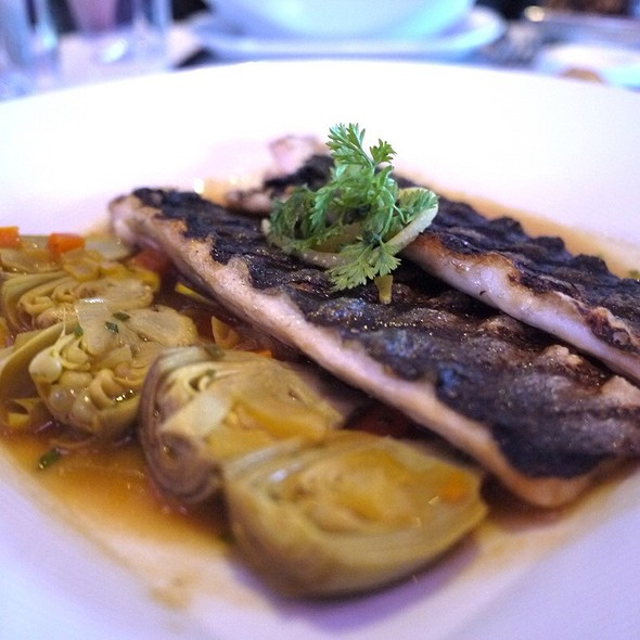 Grilled Branzino - Robert, New York, NY