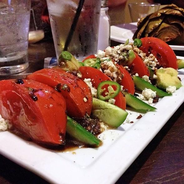 Hot House Tomato & Cucumber Salad - Clubhouse 66, Glendora, CA