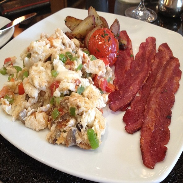 Scrambled Egg Whites & Turkey Bacon - THE Blvd - Beverly Wilshire Hotel, Beverly Hills, CA