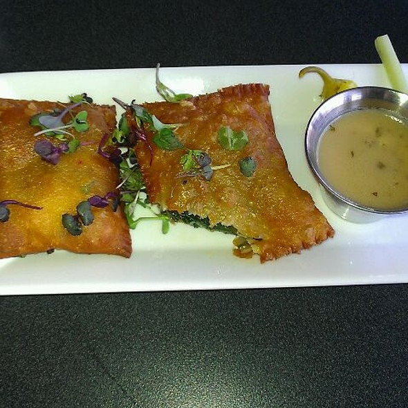 Goat Cheese And Spinach Empenadas - 501 on Main, Park City, UT