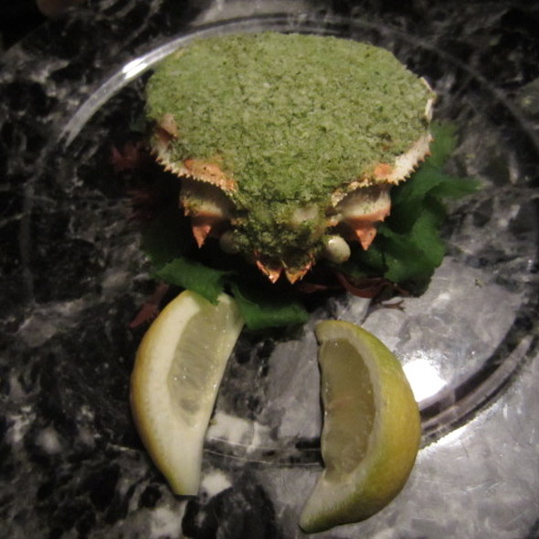 Creamy Crab Cake - NINJA NEW YORK, New York, NY