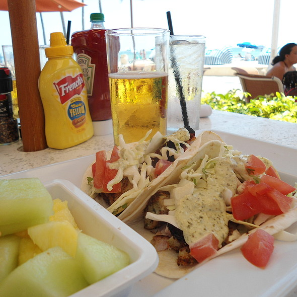 fish tacos - Latitudes Restaurant & Bar, Hollywood, FL