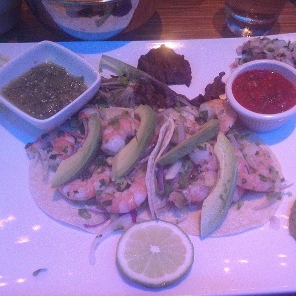 Shrimp Ceviche And Avocado Tacos - Vega Mexican Cuisine, Hartsdale, NY