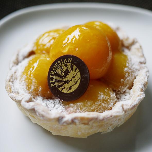 Apricot Tartlet - Petrossian - New York, New York, NY