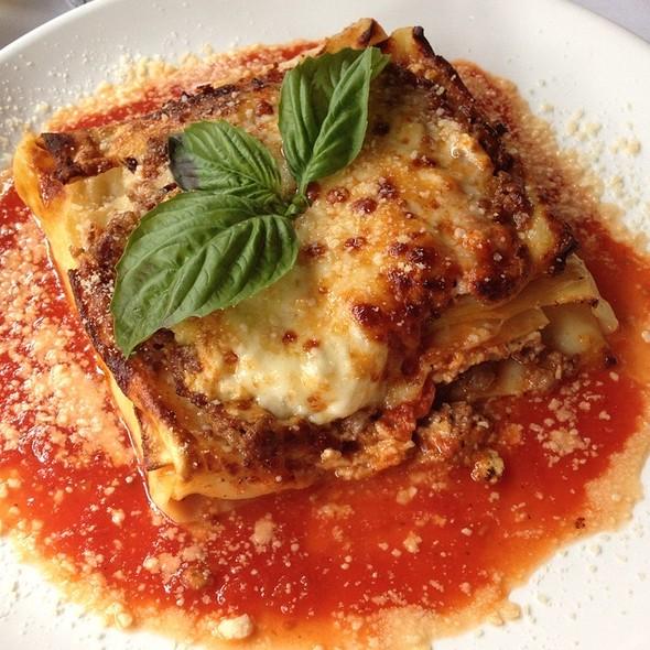 Meat Lasagna - Sapori Trattoria, Chicago, IL