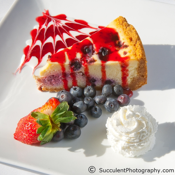 Berry Cheesecake - Johnny's Italian Steakhouse - Middleton, Middleton, WI