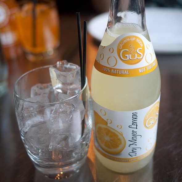 Meyer Lemon Soda - Ad Hoc, Yountville, CA