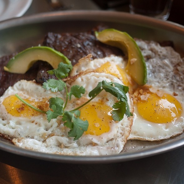 Skirt Steak and Eggs - Ad Hoc, Yountville, CA