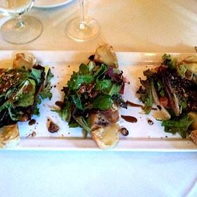 Pere E Formaggio Di Capra Caldo - Il Cielo Gardens Restaurant & Bar, Beverly Hills, CA