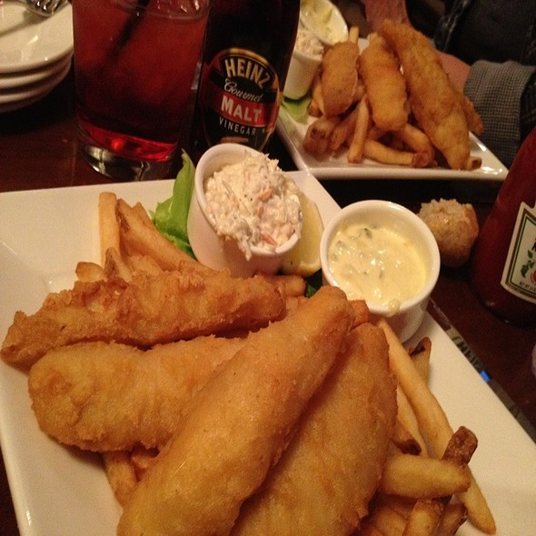 Fish and Chips - Plumsteadville Inn, Pipersville, PA