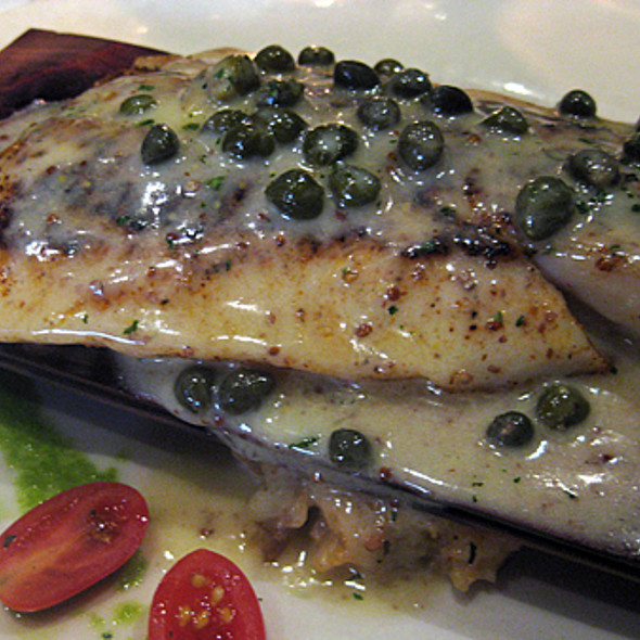 cedar plank roasted redfish - Mansurs On the Boulevard, Baton Rouge, LA
