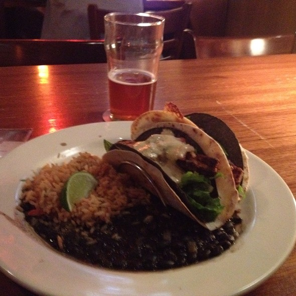 Cajun Fish Tacos - Rock Bottom Brewery Restaurant - Cincinnati, Cincinnati, OH