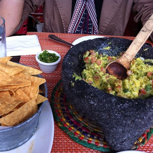 Guacamole and Chips - Cafe Frida - Columbus Ave, New York, NY