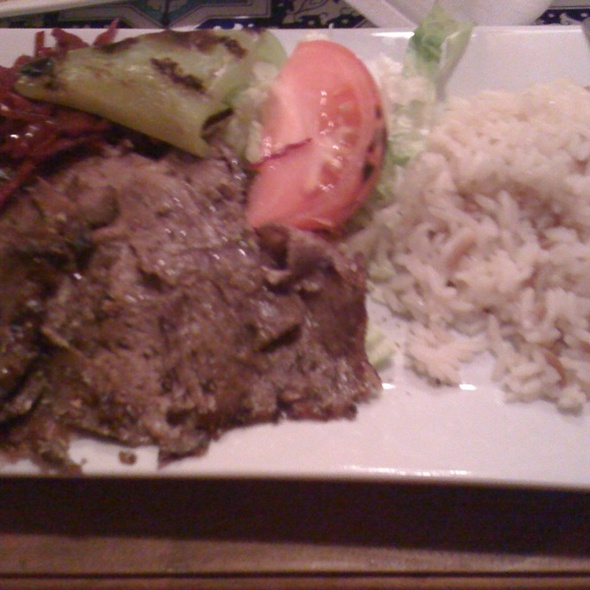 Doner Lunch Special - ABA Turkish Restaurant, New York, NY