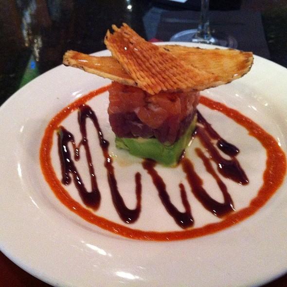 salmon and tuna tartare - Tempo, Waltham, MA