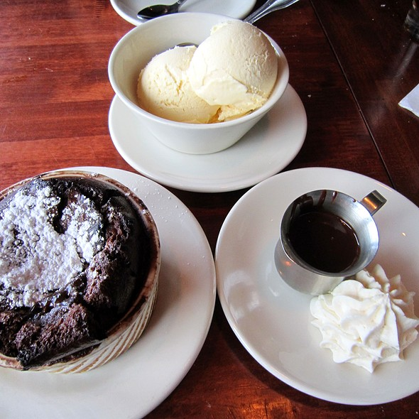 Chocolate Souffle - Salt Creek Grille - Rumson, Rumson, NJ