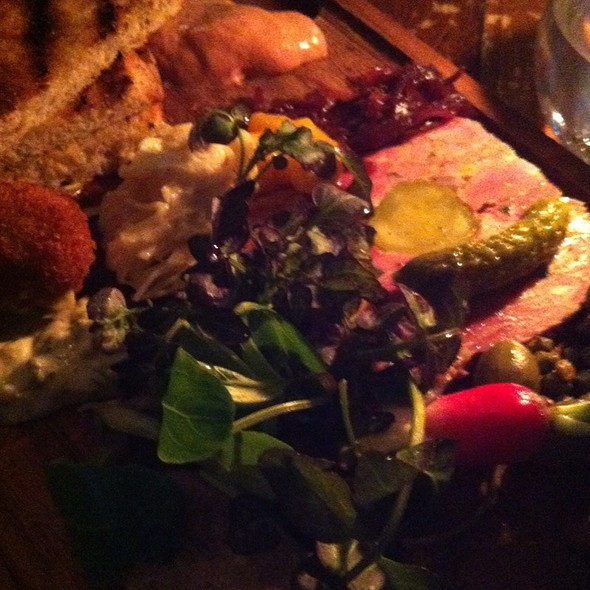 Chacuterie Plate - The Bull & Last, London