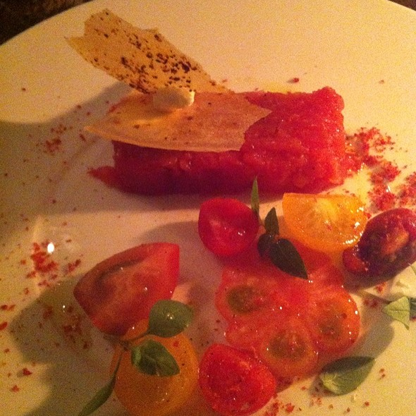 Tomato Terrine - The Bull & Last, London
