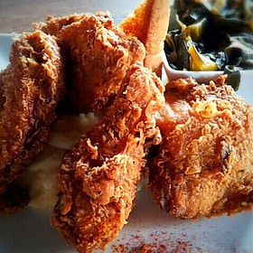 fried chicken - MAX's Wine Dive San Antonio - East Basse Rd, San Antonio, TX