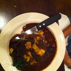 Braised Lamb Shank - Bridges Restaurant - MD, Grasonville, MD