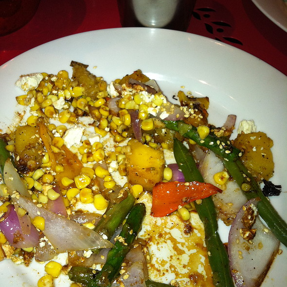 Warm Vegetable Salad - The Beauty Shop, Memphis, TN