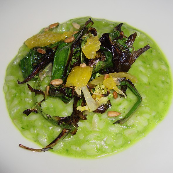 Wild Ramp Risotto - Green Zebra, Chicago, IL