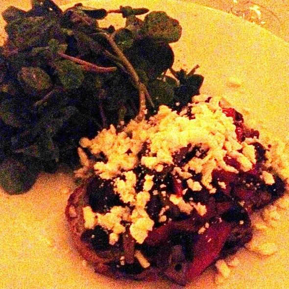 Mushroom Bruschetta - Salum Restaurant, Dallas, TX