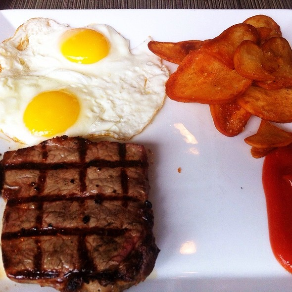 Steak and Eggs - Scion Restaurant, Washington, DC