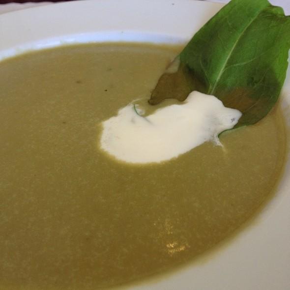 Soupe Poireaux-Pommes De Terre A L'oseille - White Shallot, San Jose, CA
