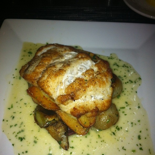 Grouper With Artichokes, Olives And Fingerling Potatoes - Etcetera Etcetera, New York, NY