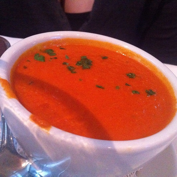 Tomato Bisque - Tavern at the Park, Chicago, IL
