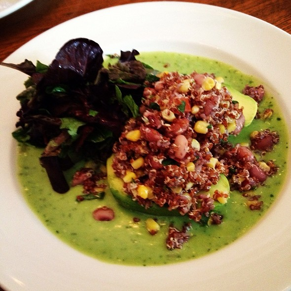 Stuffed Avocado With Quinoa - Blind Faith Cafe, Evanston, IL
