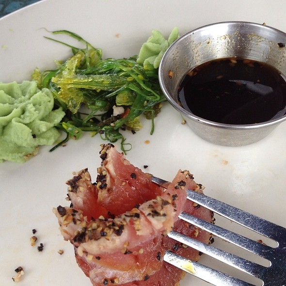 Pepper Seared Ahi Tuna - Water's Edge - Charleston, Mount Pleasant, SC