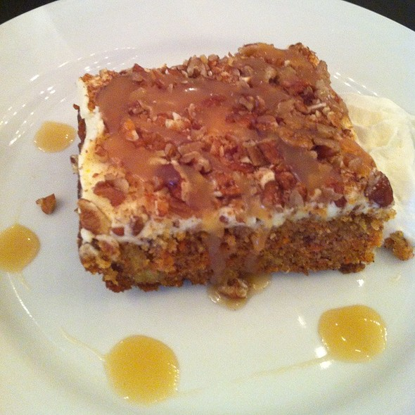 Carrot Cake - Blackshop Restaurant & Lounge, Cambridge, ON