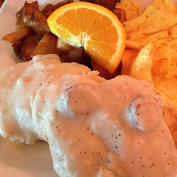 Biscuits and Gravy - Chez Zee, Austin, TX