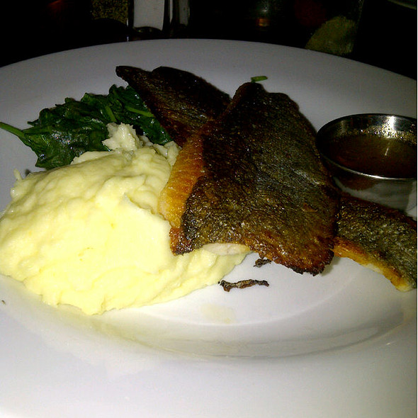 Pan Seared Rainbow Trout - Table 3 Restaurant and Market, Nashville, TN