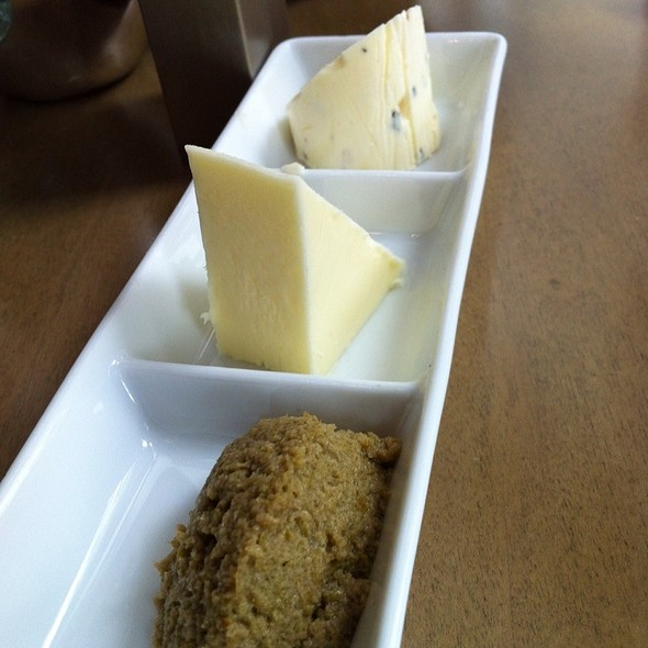 Butter, Homemade Herbed Butter And Olive Tapenade - Gazette Restaurant Montreal, Montréal, QC