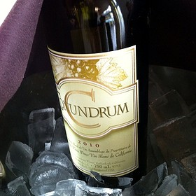Wine White Conundrum 2010 On Ice - Gazette Restaurant Montreal, Montreal, QC