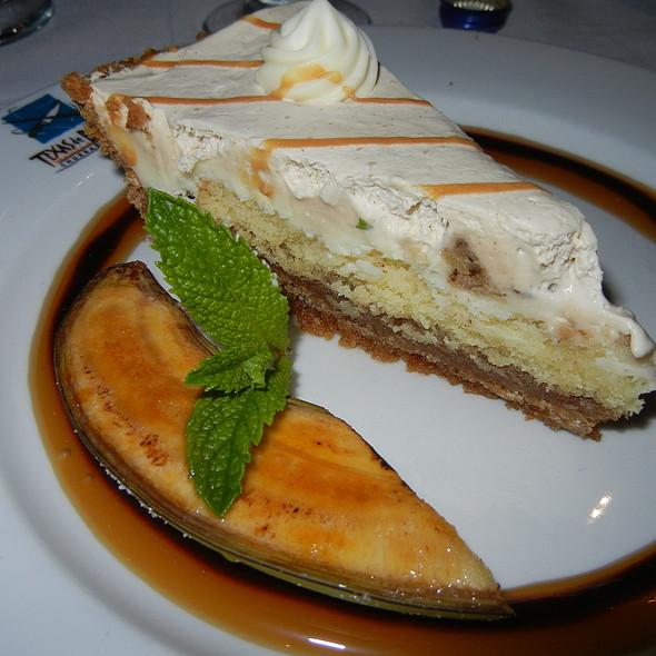Banana Fosters Pie - Texas de Brazil - Las Vegas, Las Vegas, NV