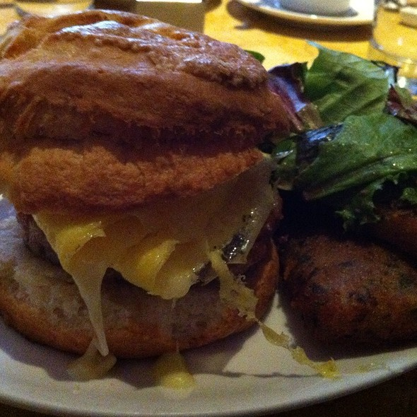 Sausage, Egg and Cheese Biscuit - Birch and Barley, Washington, DC