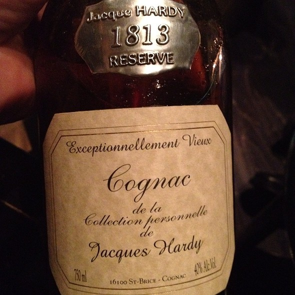 1813 Hardy Cognac - Andre's at the Monte Carlo Resort & Casino, Las Vegas