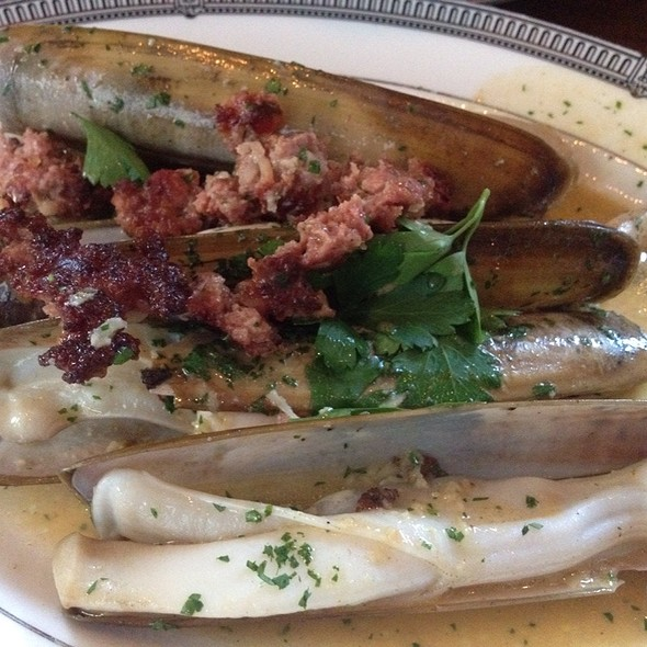 razor clams - The Tasting Kitchen, Venice, CA