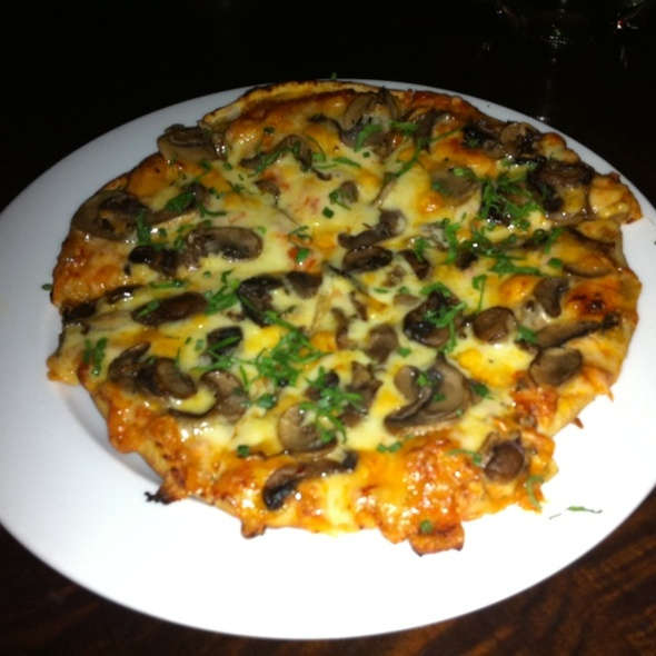 Wild Mushroom Pizzetta - Wined Up Wine Bar, New York, NY