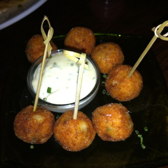 Crab Fritters - Wined Up Wine Bar, New York, NY