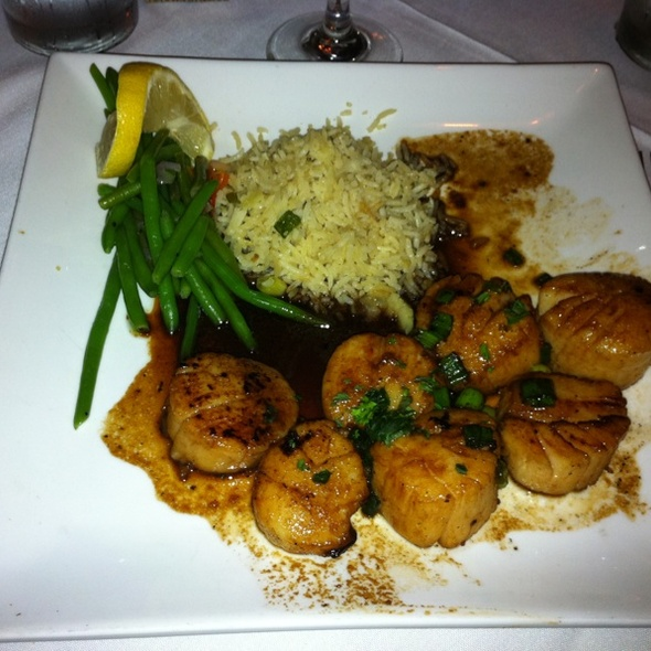 Seared Sea Scallops - The Parson's Table, Little River, SC