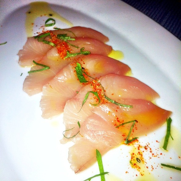 Hamachi Crudo - Oceana, New York, NY